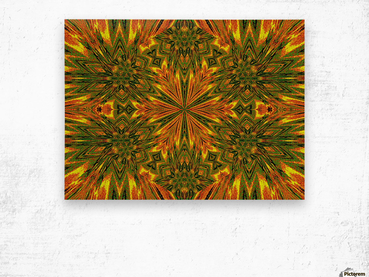 Morining Glory 3 Wood print