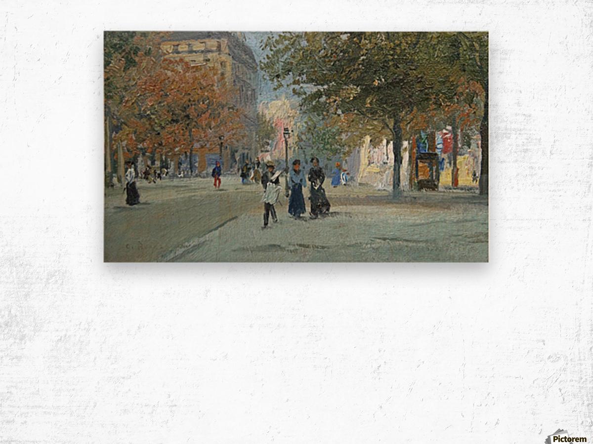 Avenue de l'Observatoire Wood print