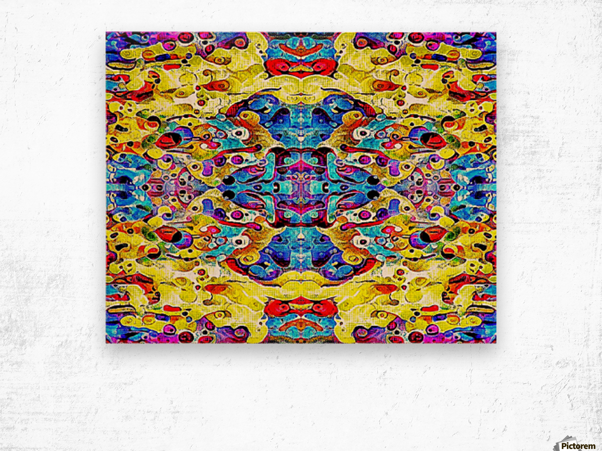 blurose Wood print