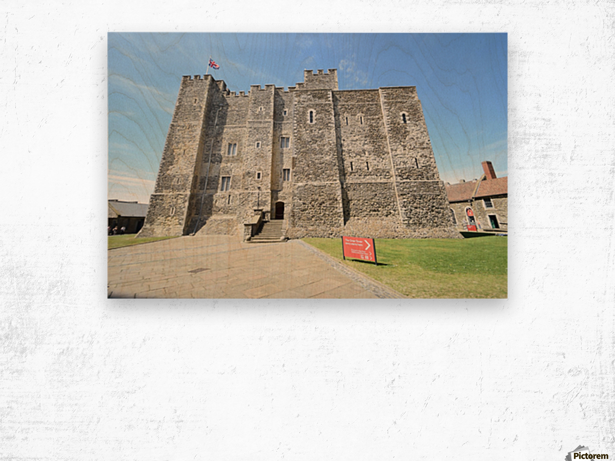 DOVER CASTLE, UK Wood print