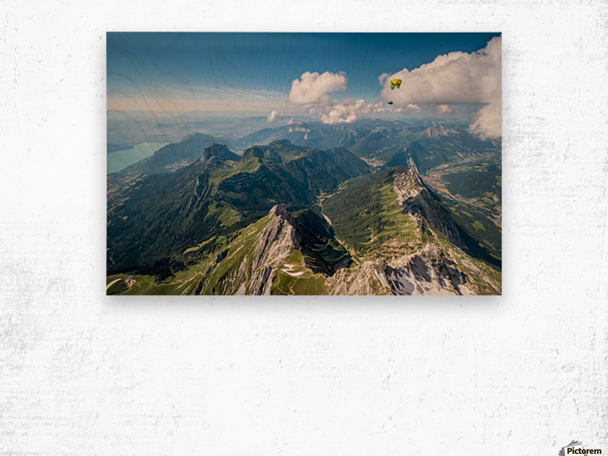 Flying above La Tournette with Francis Boehm