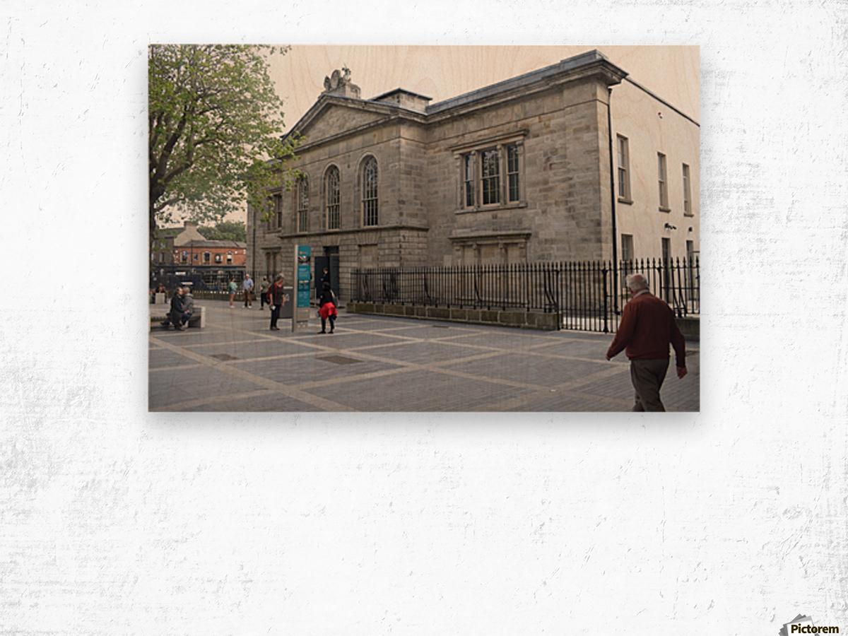 KILMAINHAM JAIL, DUBLIN Wood print
