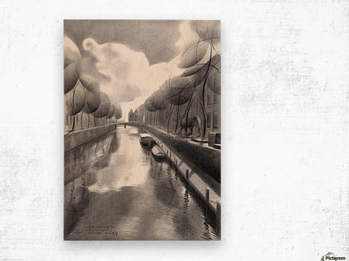 The return of the dutch elephants (@ Gouda) - 12-07-17  Wood print