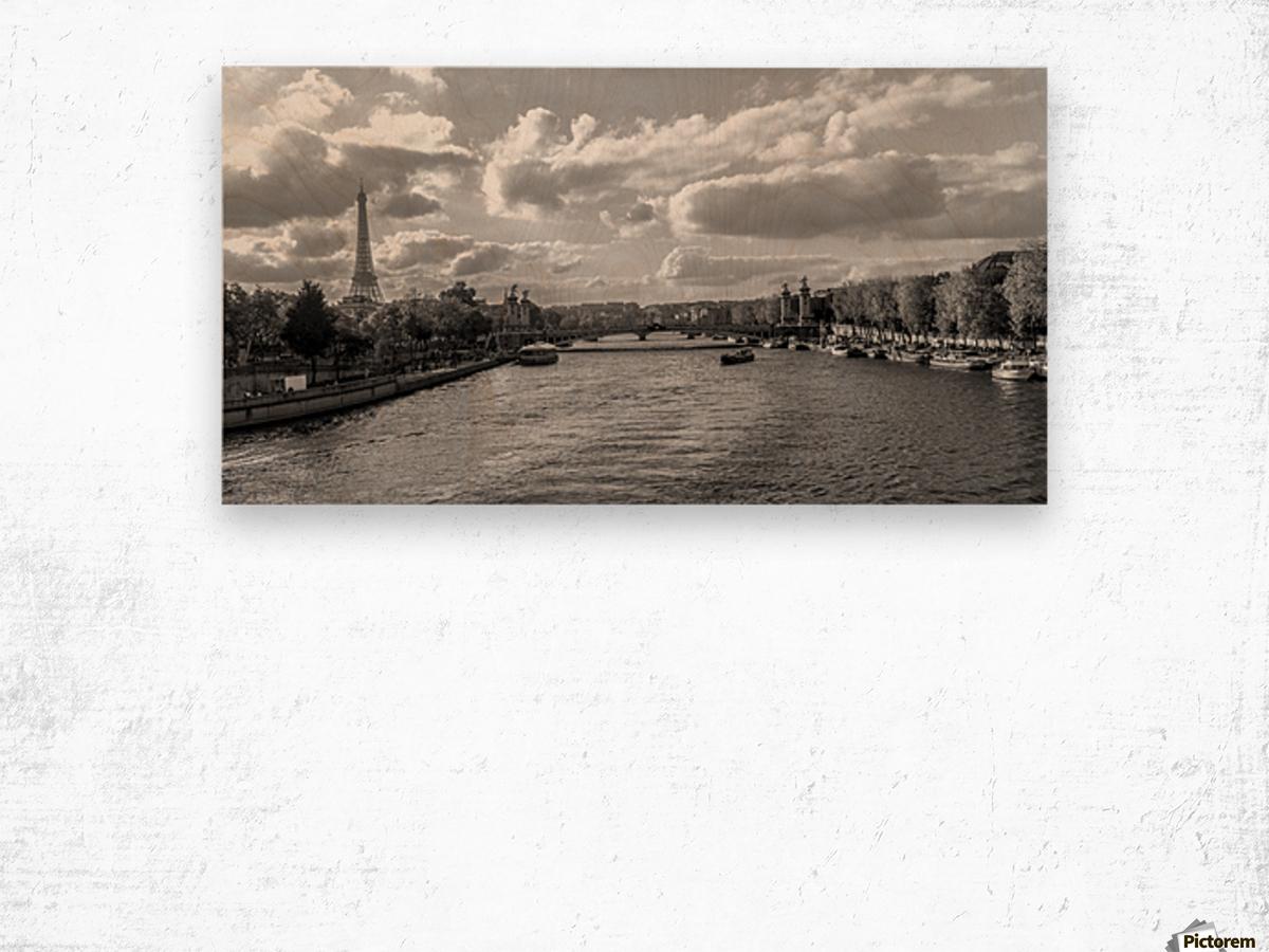 Paris je t'aime! Wood print