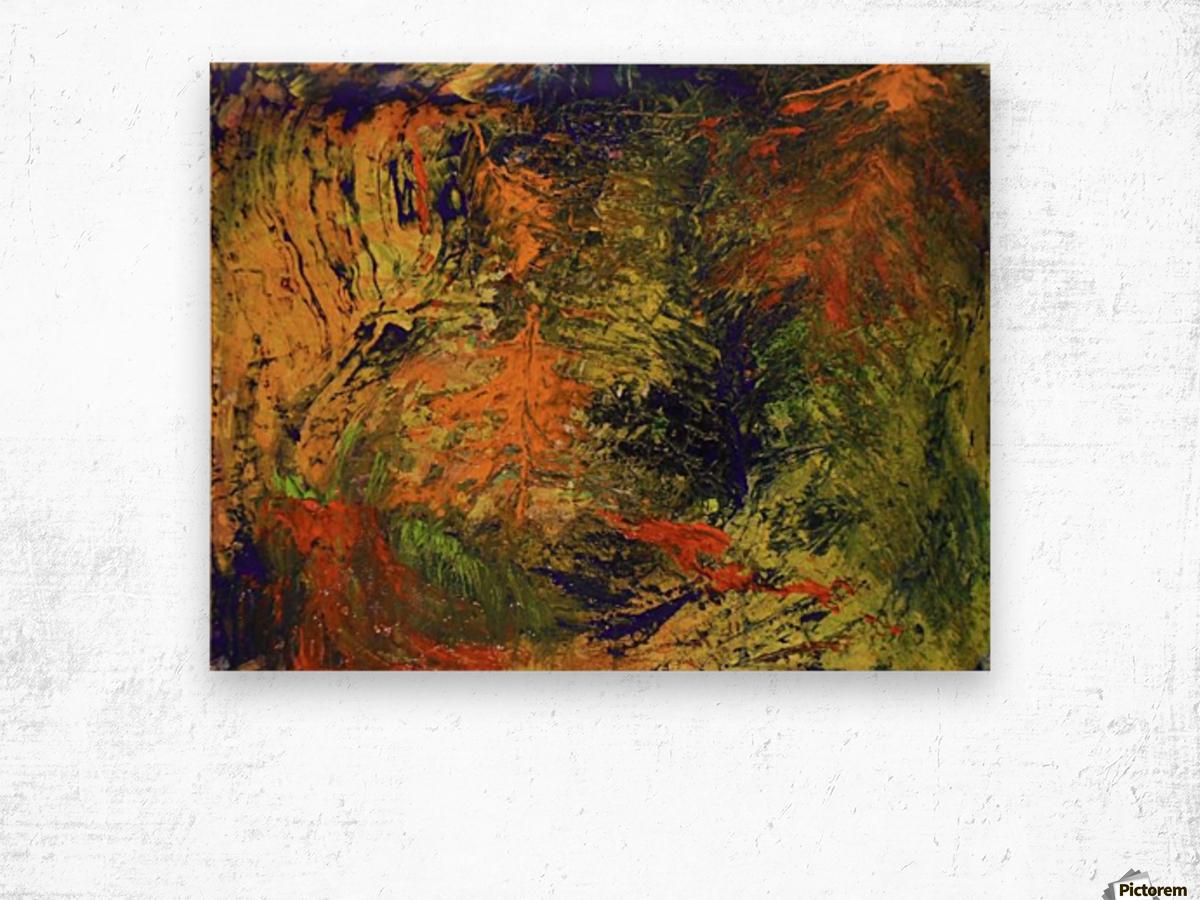 Spring Thaw Wood print