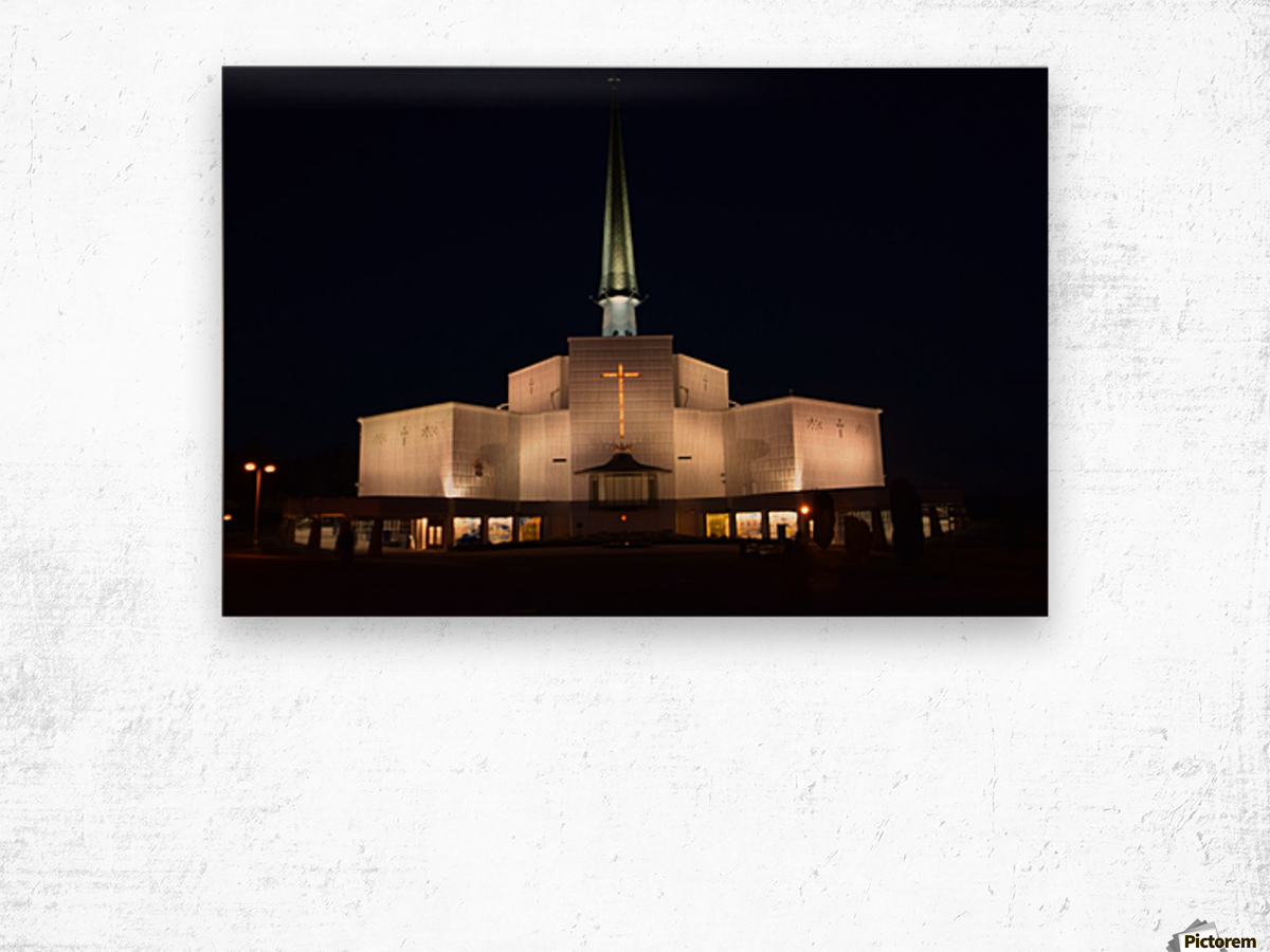 KNOCK SHRINE, CO.MAYO Wood print