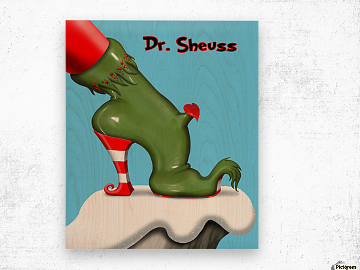 dr_sheuss_36in Wood print