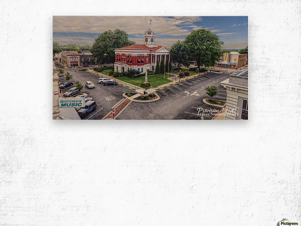 Searcy, AR | Courthouse Wood print
