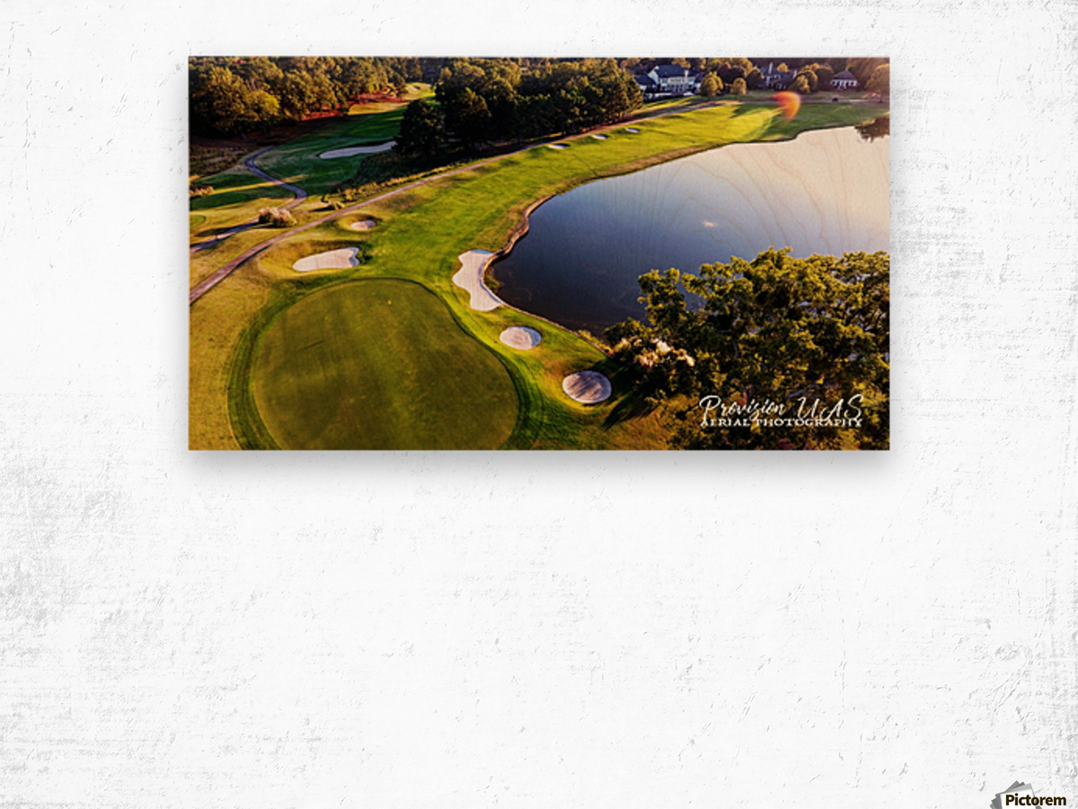 Westpoint, MS   The 18th Hole Wood print