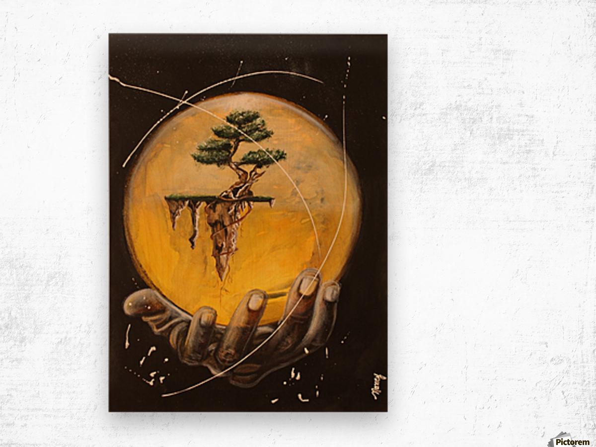 Créer Wood print