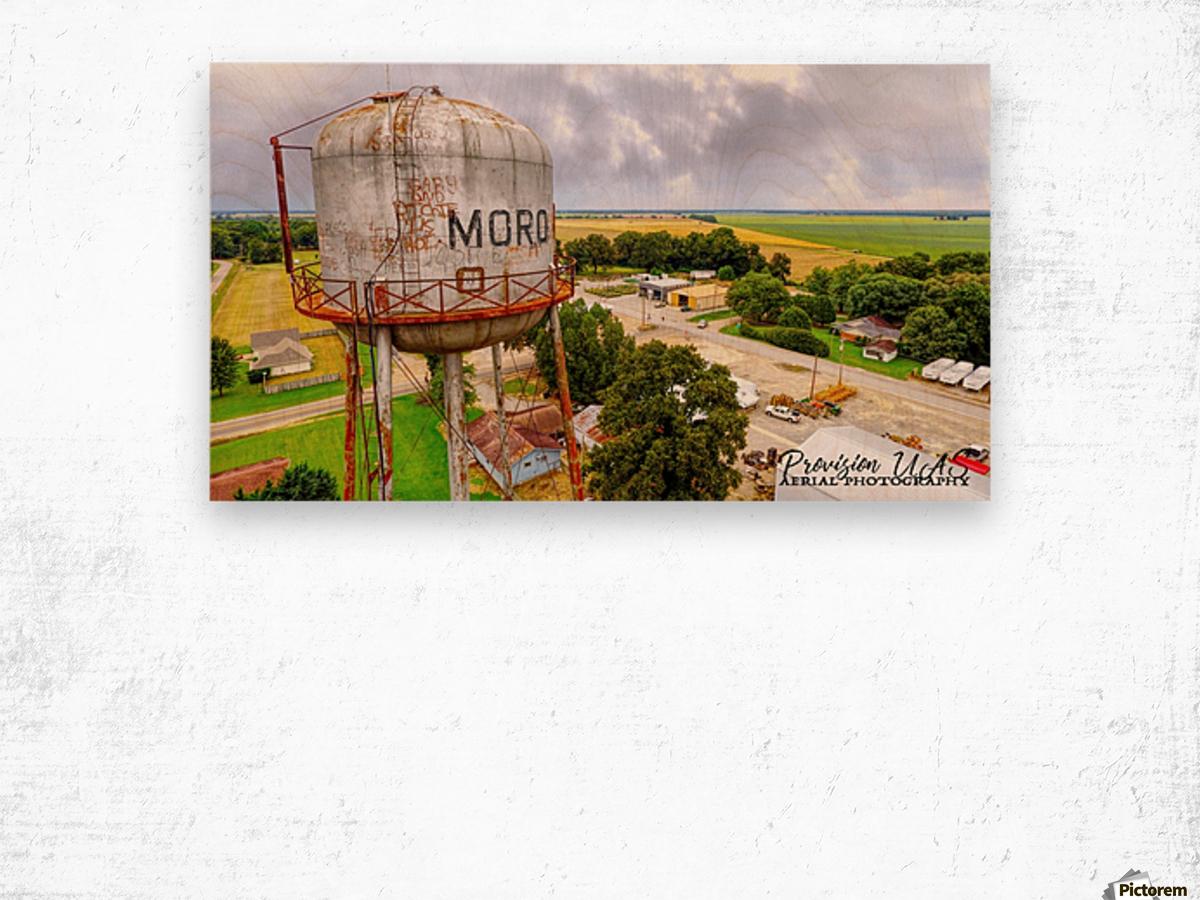Moro, Ar | Water Tank Wood print