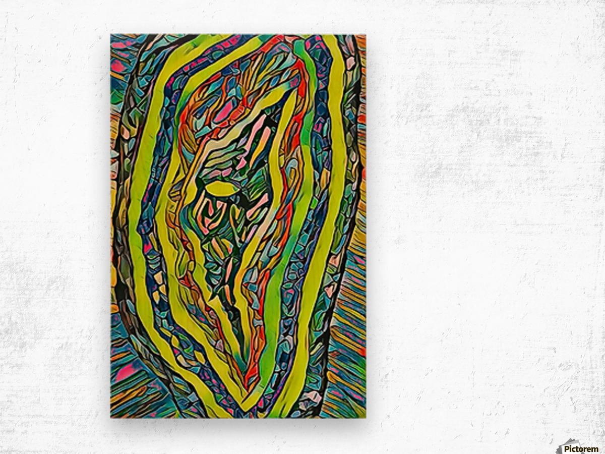 awithin Wood print