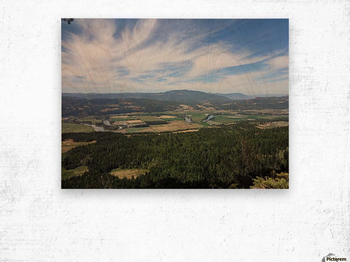 Beautiful British Columbia Wood print