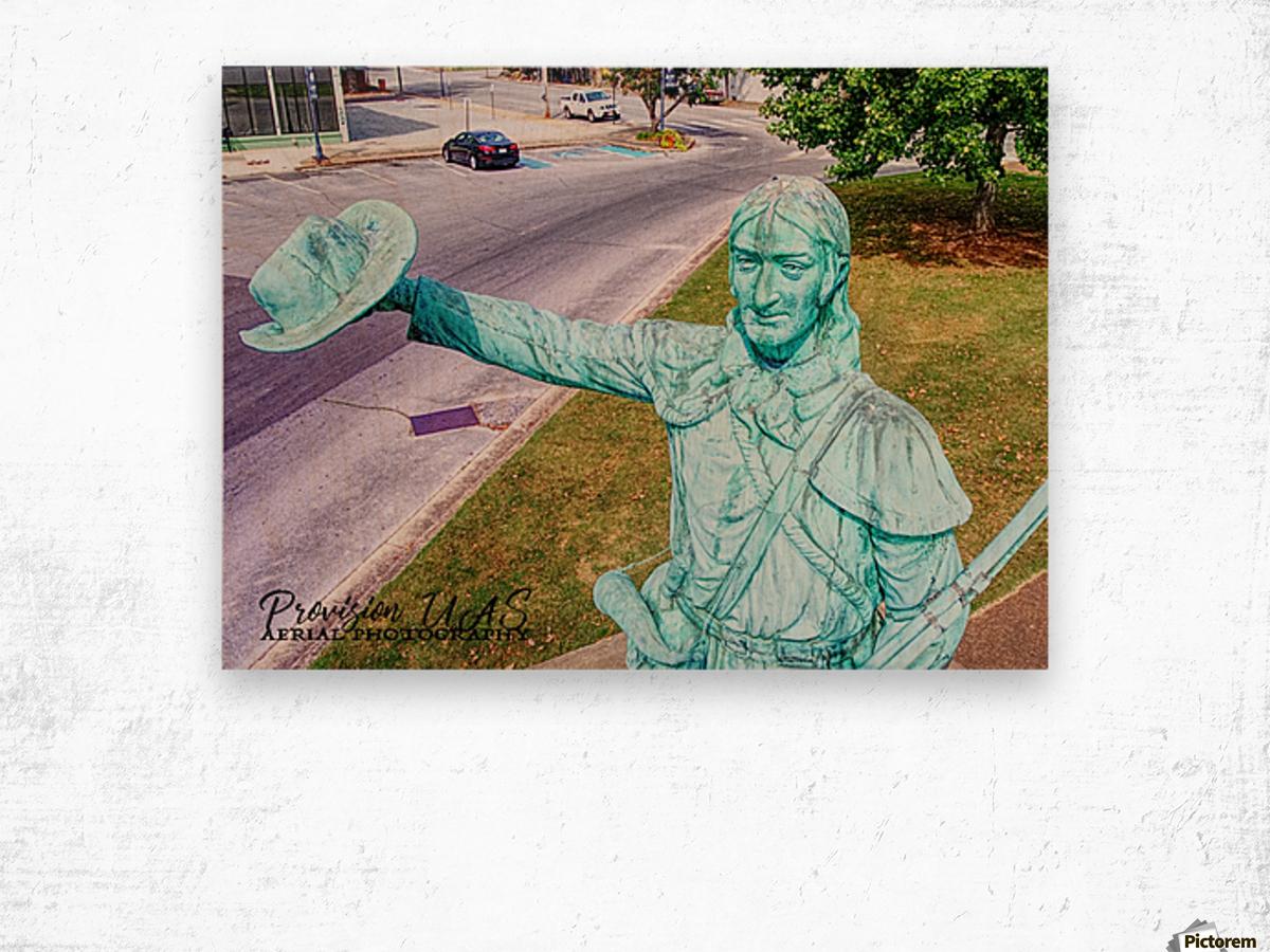 Lawrenceburg, TN | The Tennessee Gentleman Wood print