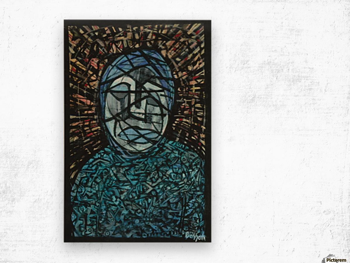 Fatima rejected Wood print