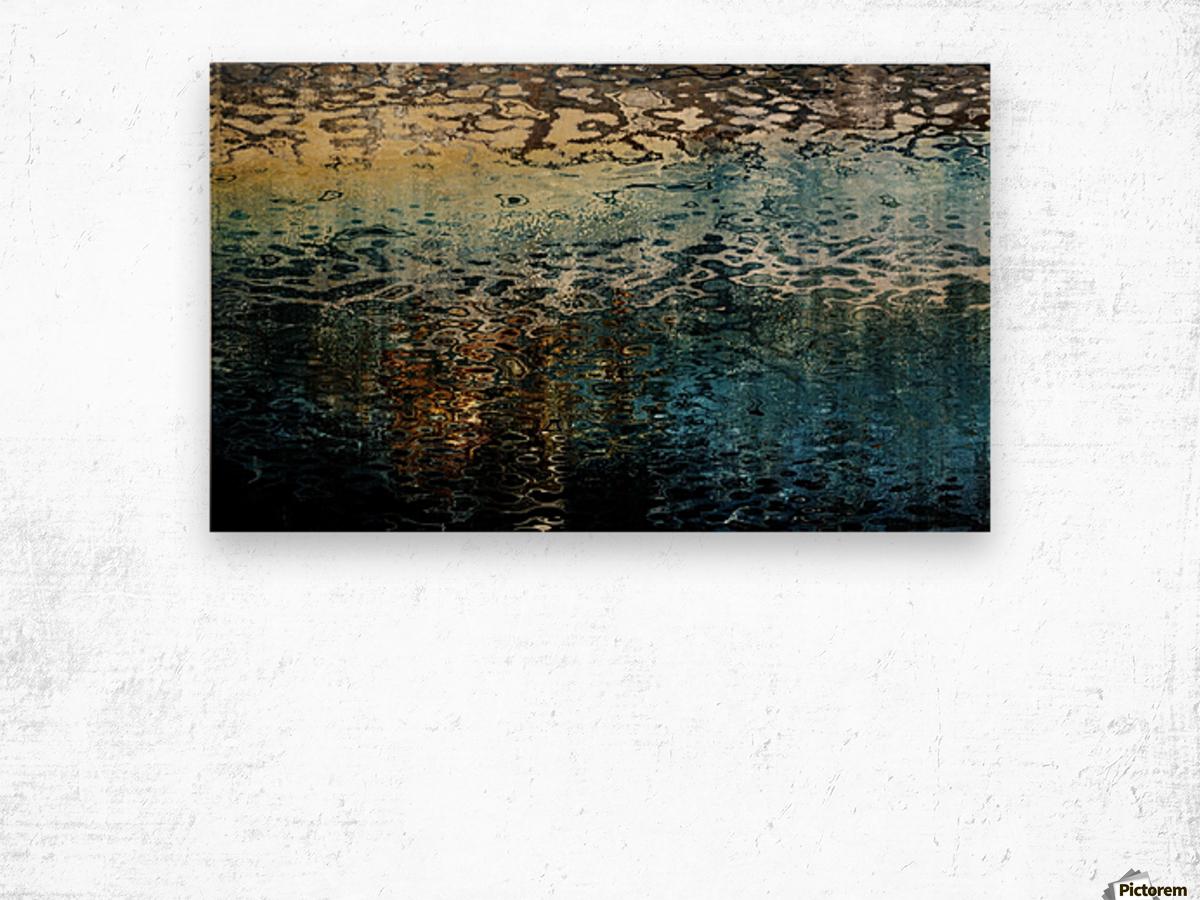 Armonk Snowmelt Wood print