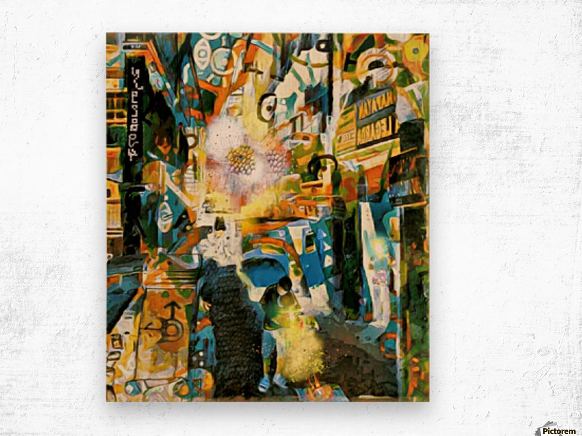 Cyclic Realities in Legarda 1097 Wood print