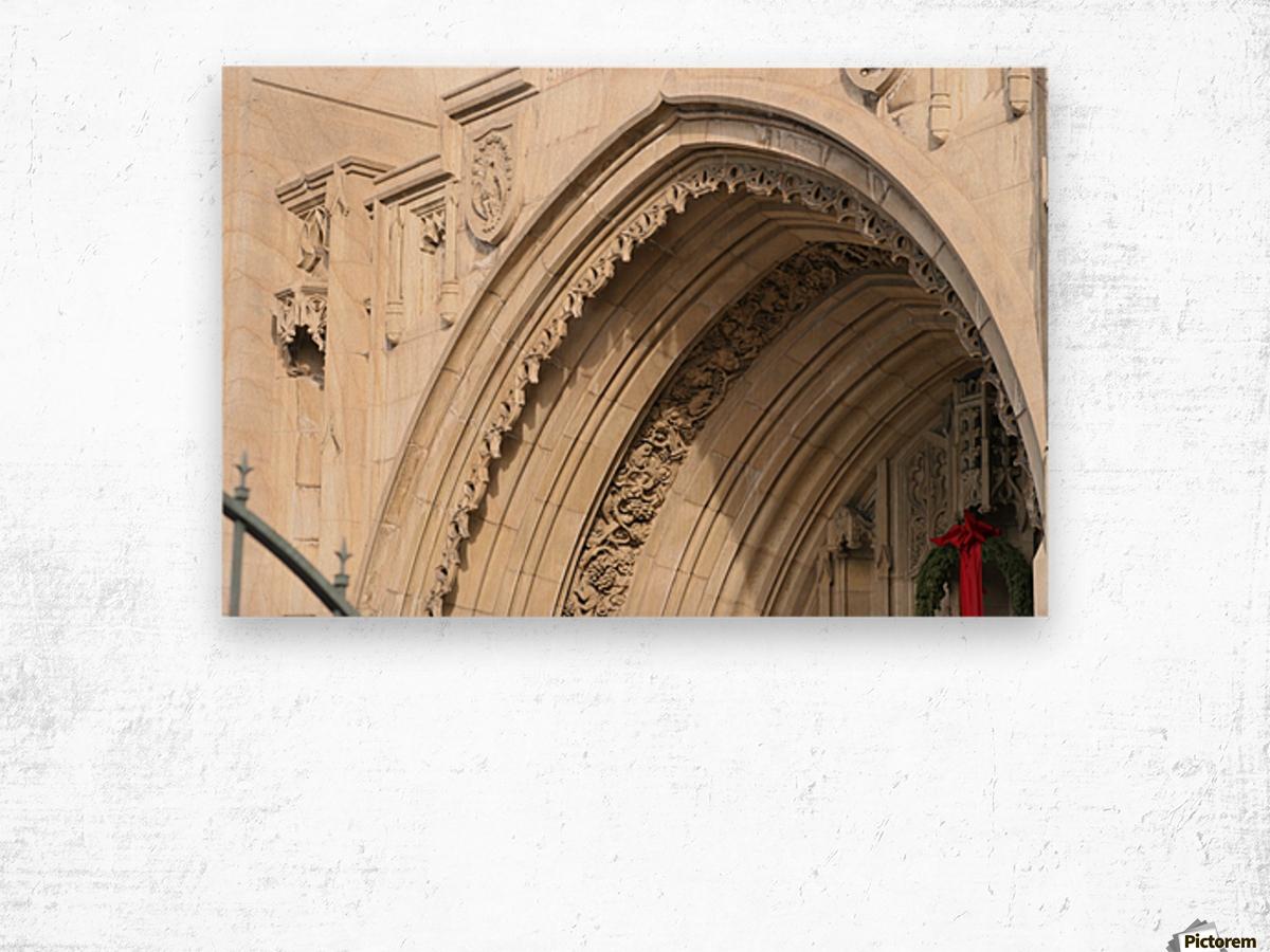 Church Arch Wood print