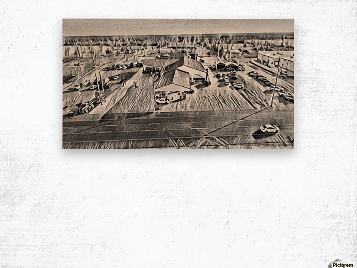 KeithsSketch Wood print