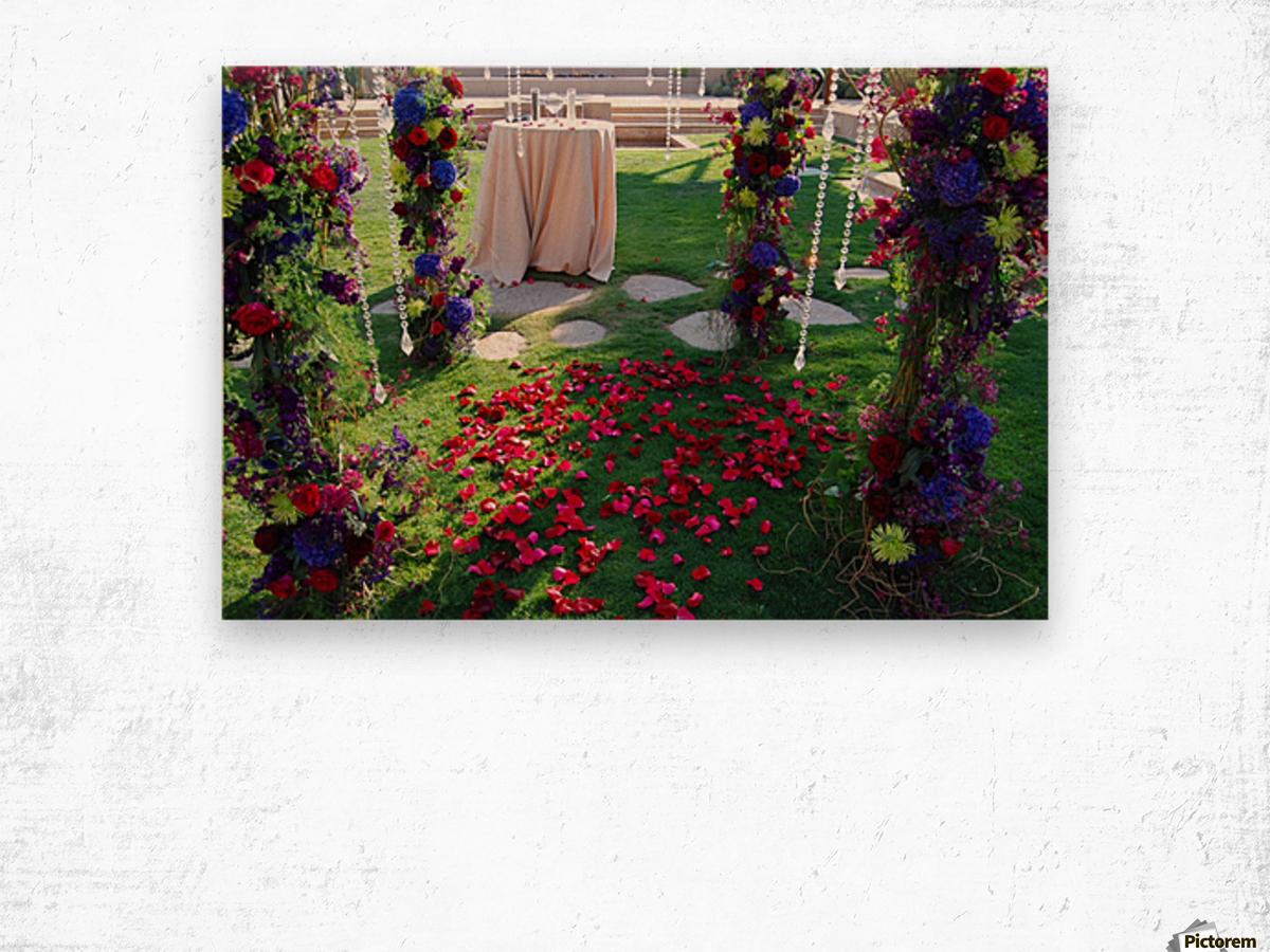 After The Wedding Impression sur bois