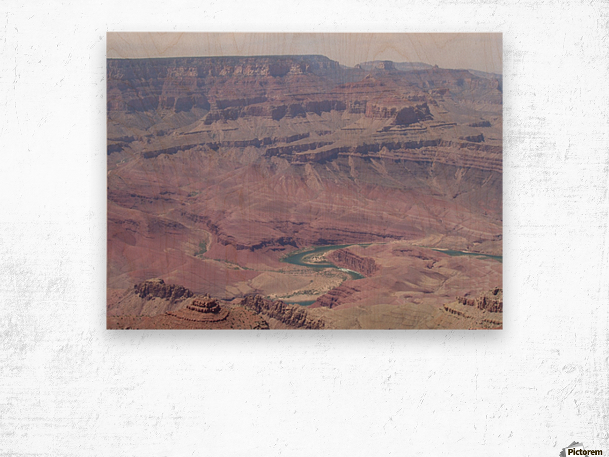GRAND CANYON AZ Photo  Wood print