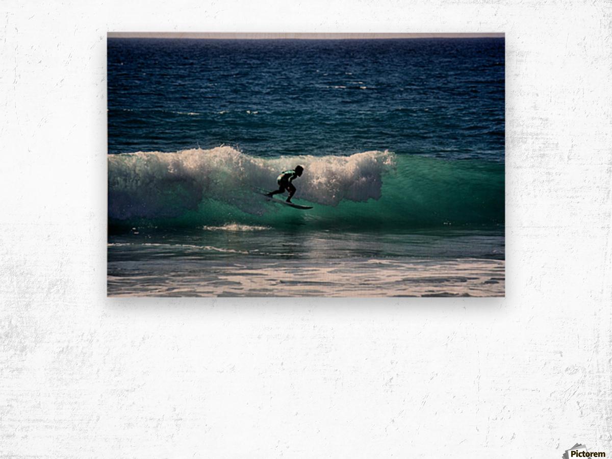 Makaha Hawaii Wood print