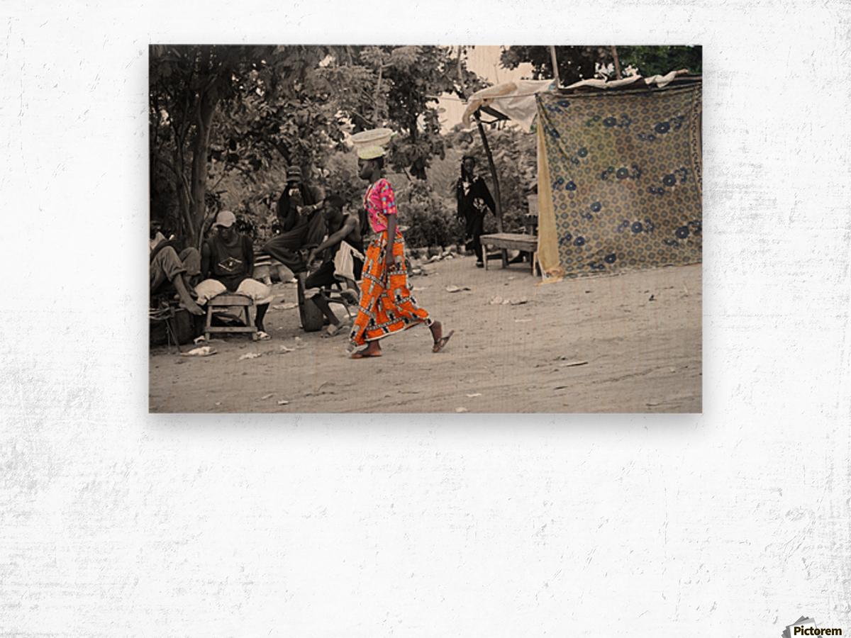 Senegal Impression sur bois