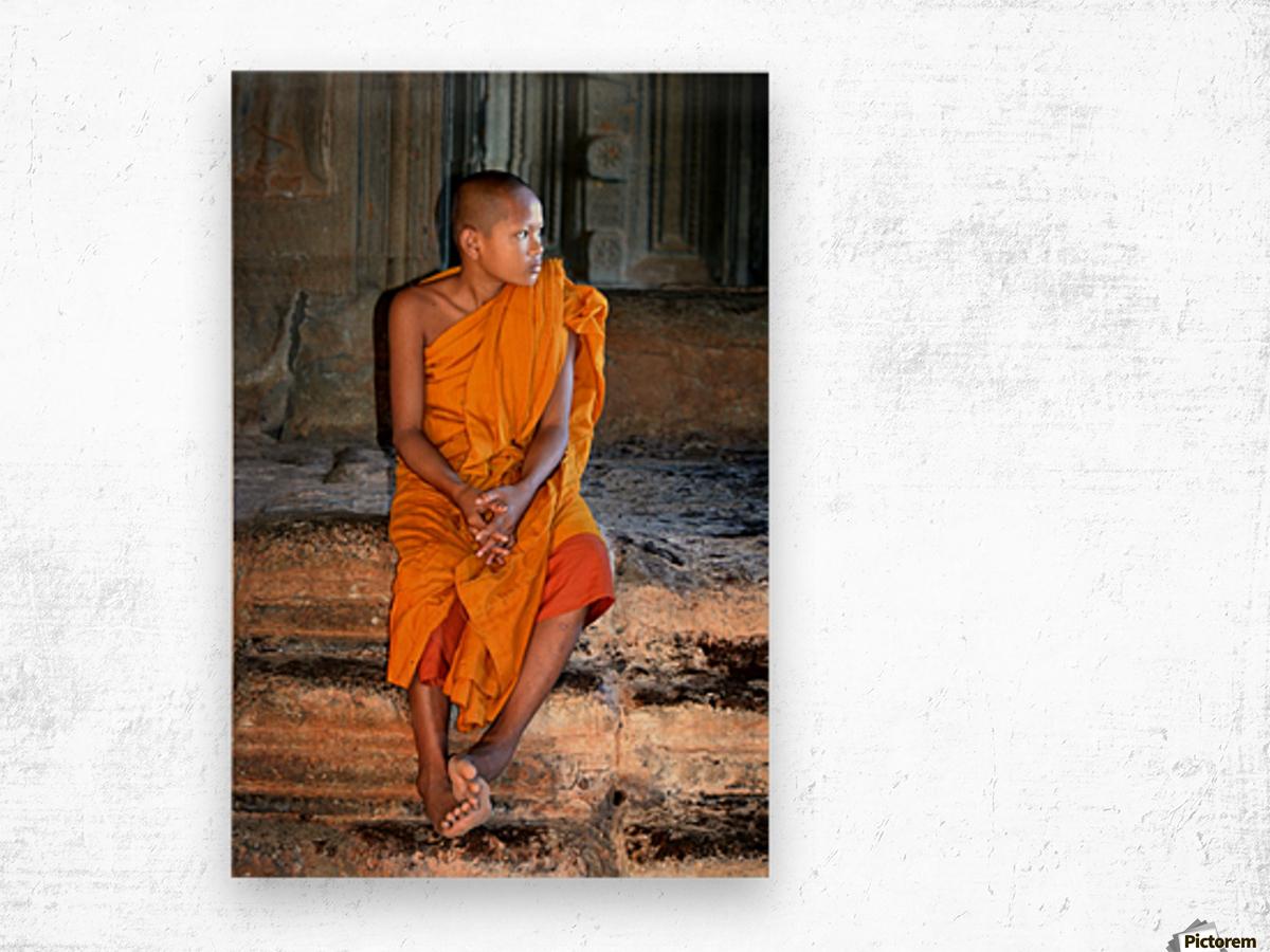 Angkor Wat Cambodia Wood print