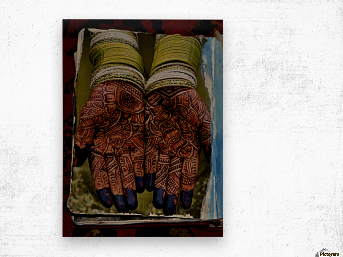 Collage Scrapbooks 2 Wood print
