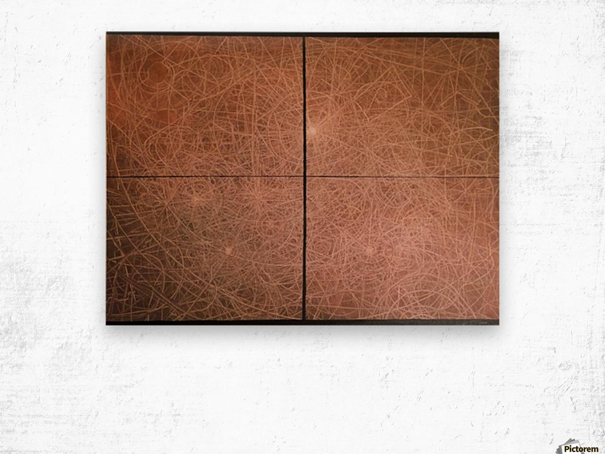 Spaceship   2016 Wood print