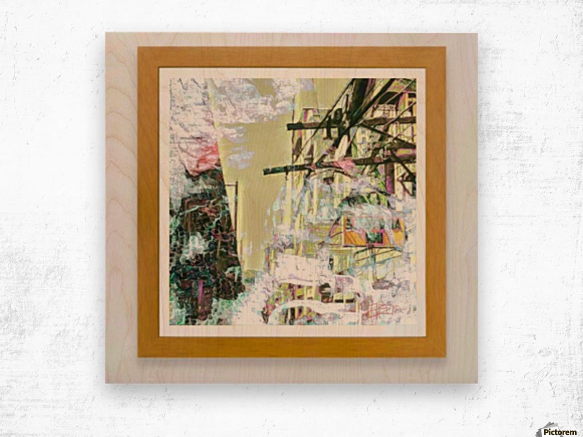 Pananaginip sa Doroteo Wood print