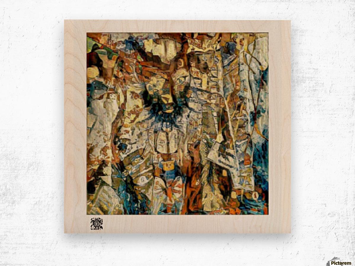 Ang Publema Ni Mr. Kebab (TBM Version) Wood print