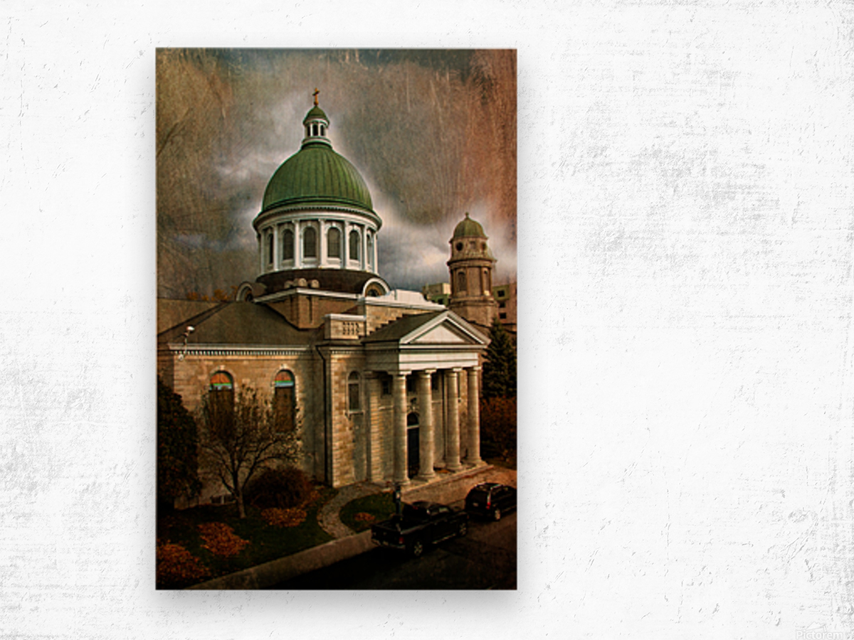 St Georges Cathedral Wood print
