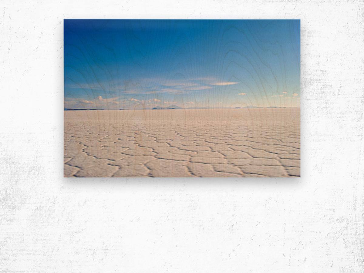 Salt Bae Wood print