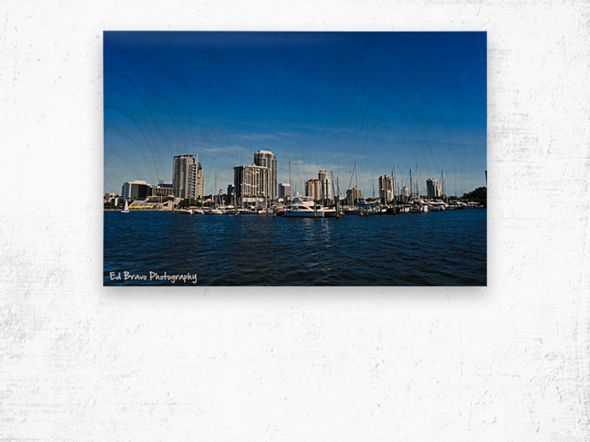 Downtown St Pete  Wood print