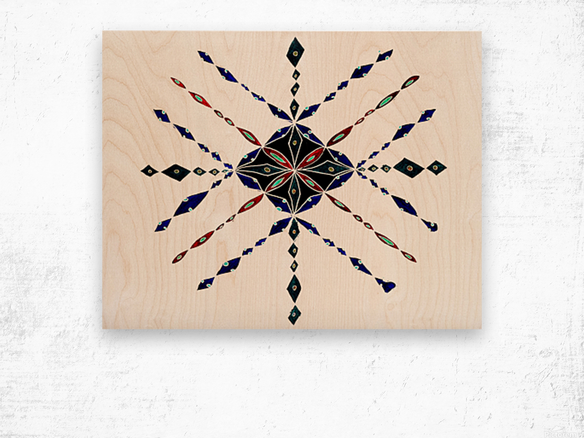 Image 1 Wood print