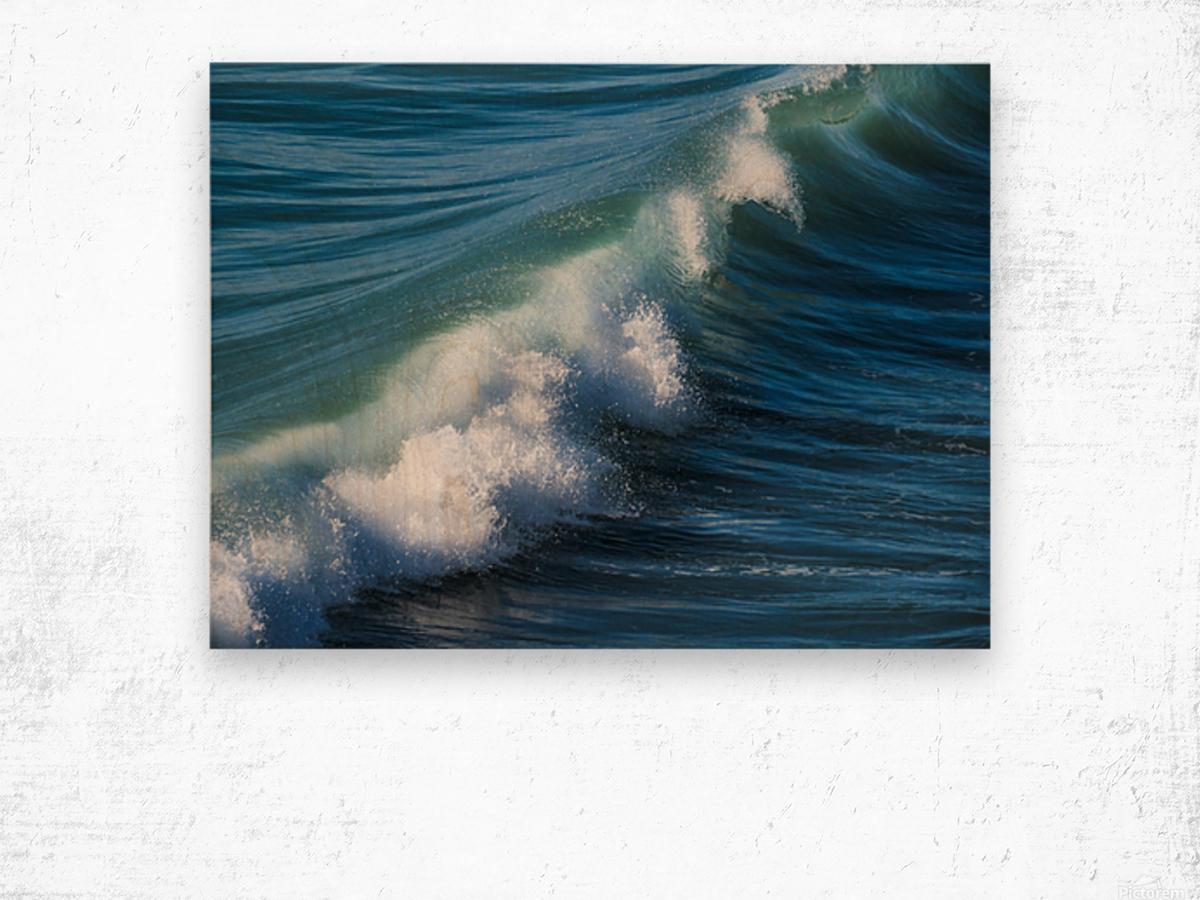 Wave of Changes - Vague de Changements Wood print
