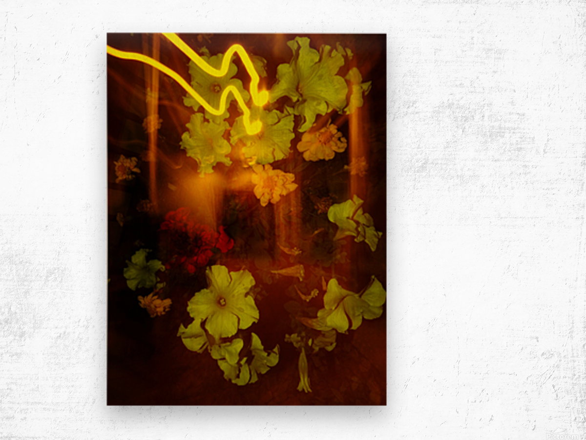 E (12) Wood print