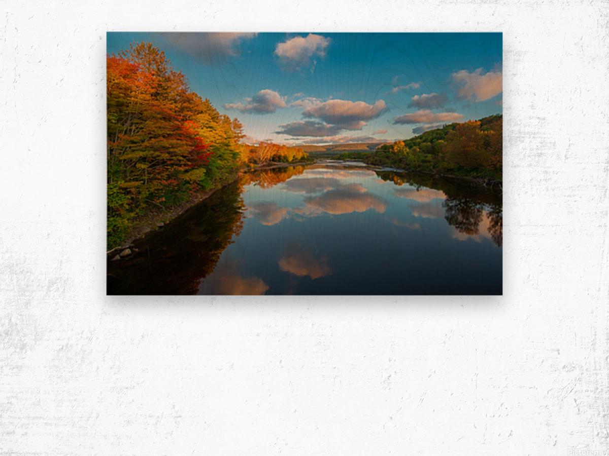 A Margaree Fall Wood print