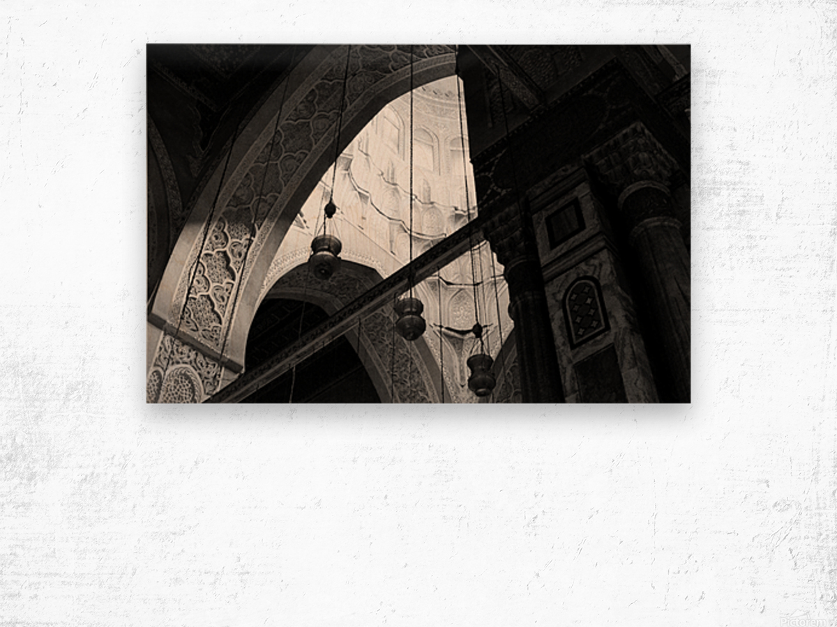 Historical Islamic Architecture Wood print