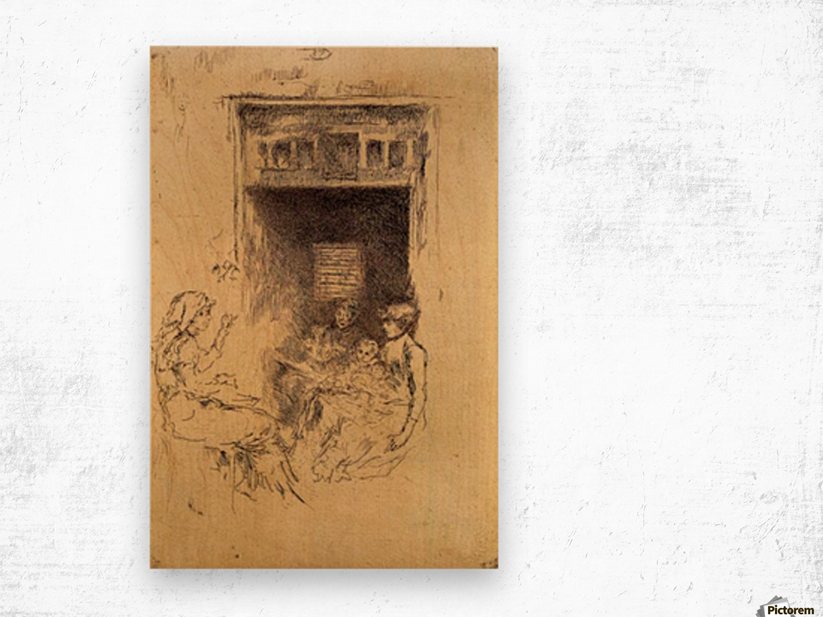 Bead Stringers by Whistler Wood print