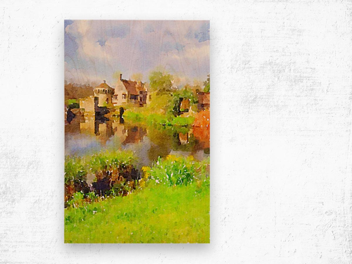 Scotney Castle Wood print