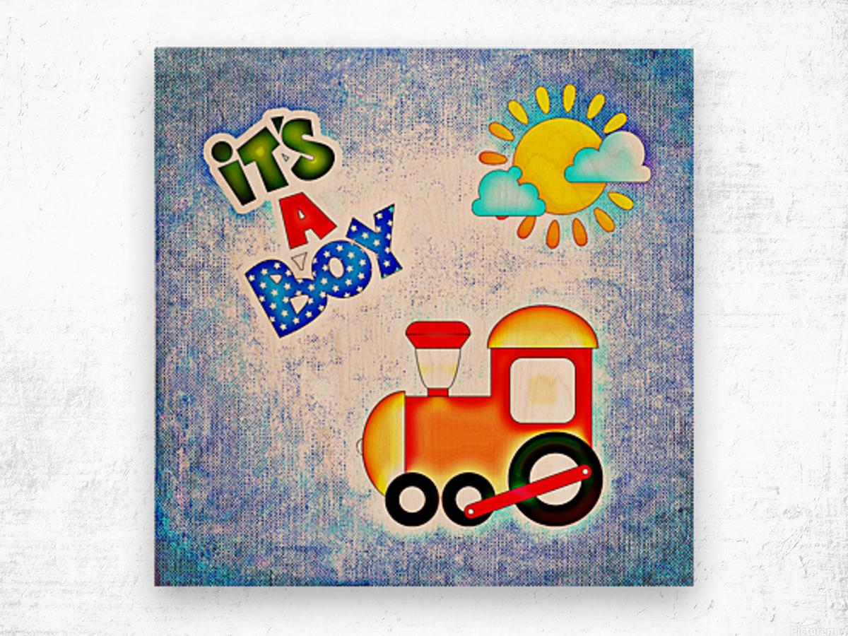 Baby Boy 1_OSG  Wood print