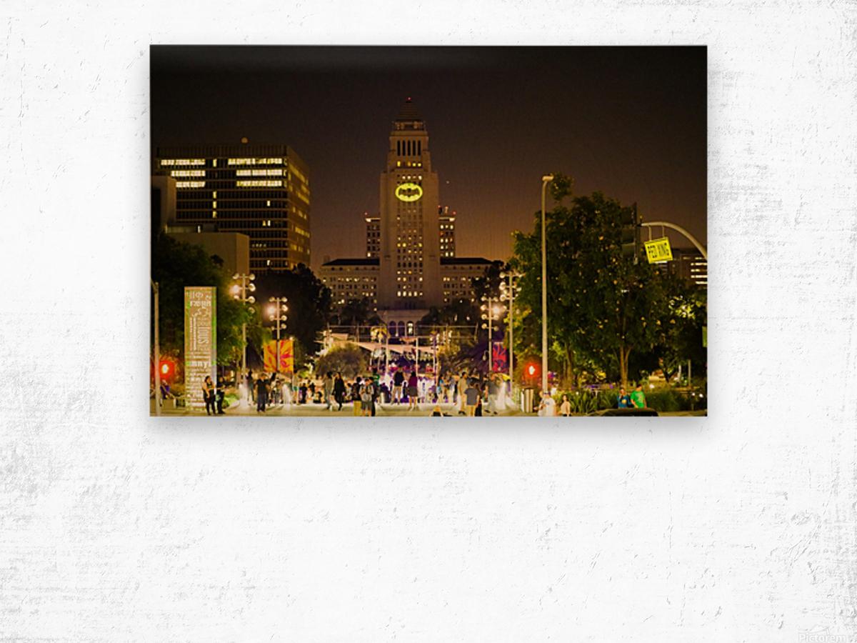 Batman City Hall  Wood print