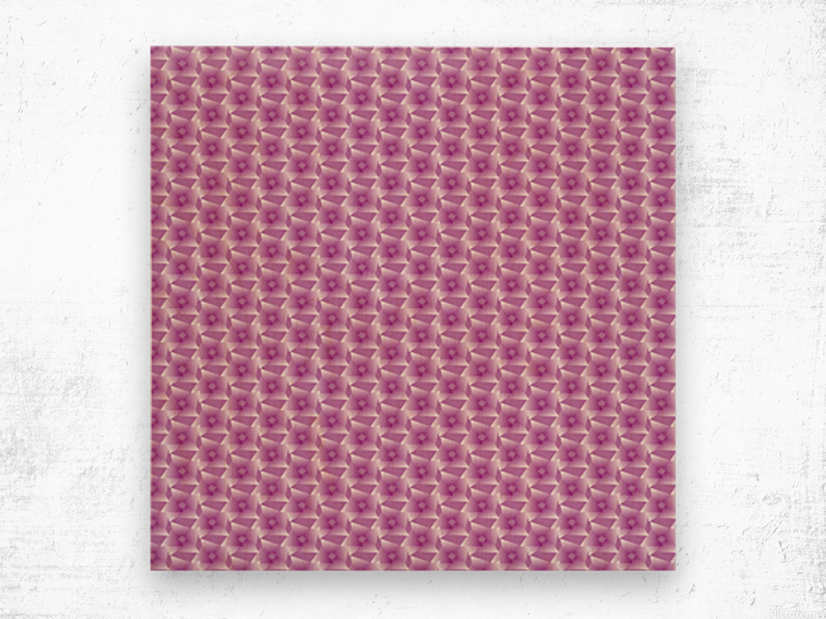 Rose Pattern Artwork Wood print