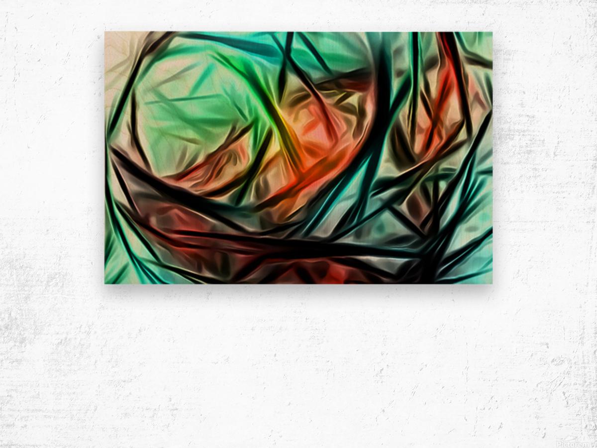 Consanguinity  Wood print