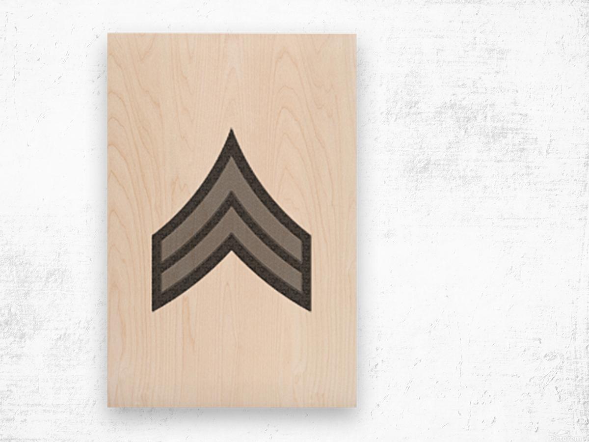 Corporal Wood print