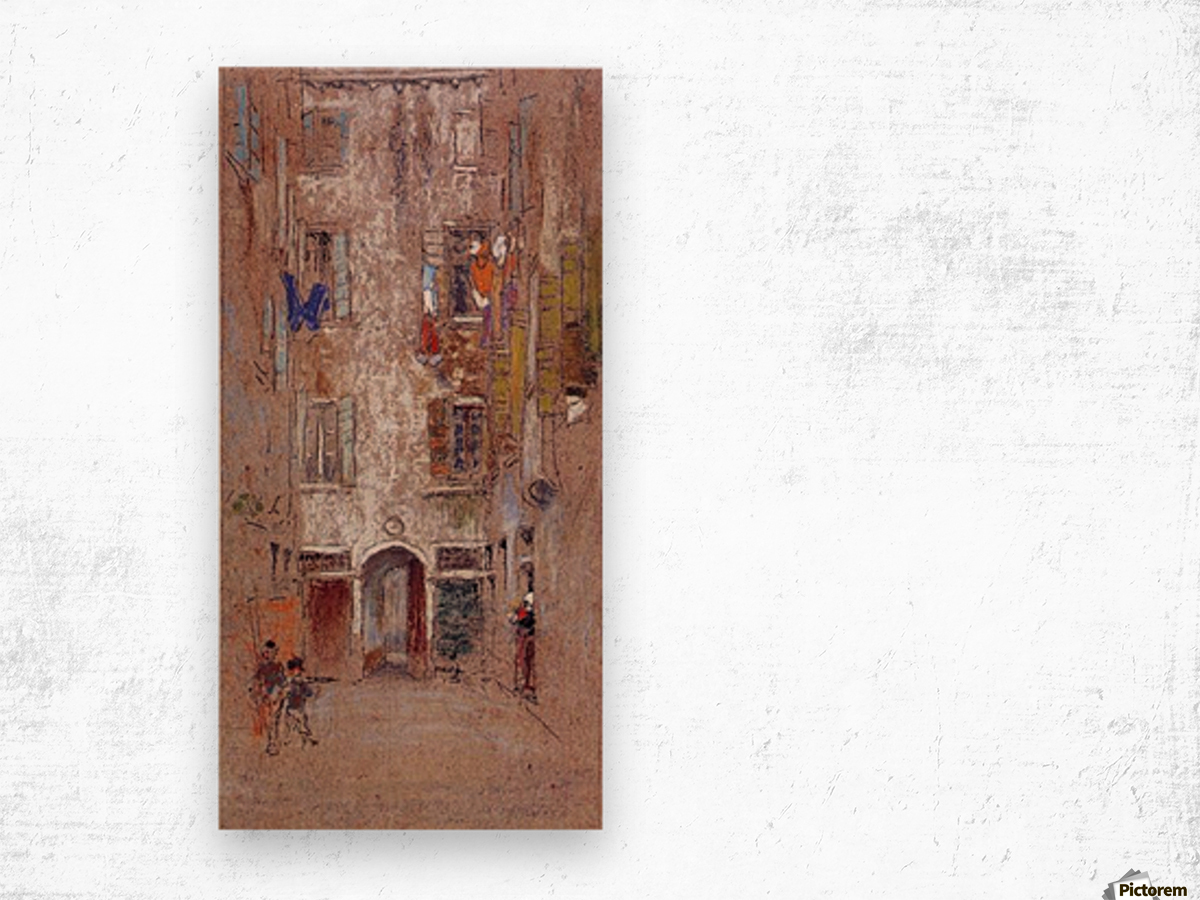 Corte del Paradiso by Whistler Wood print