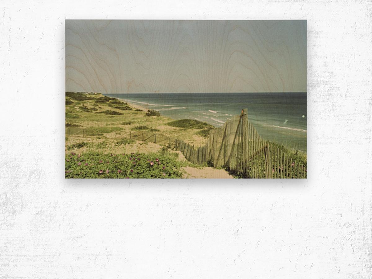 Marconi Beach Impression sur bois