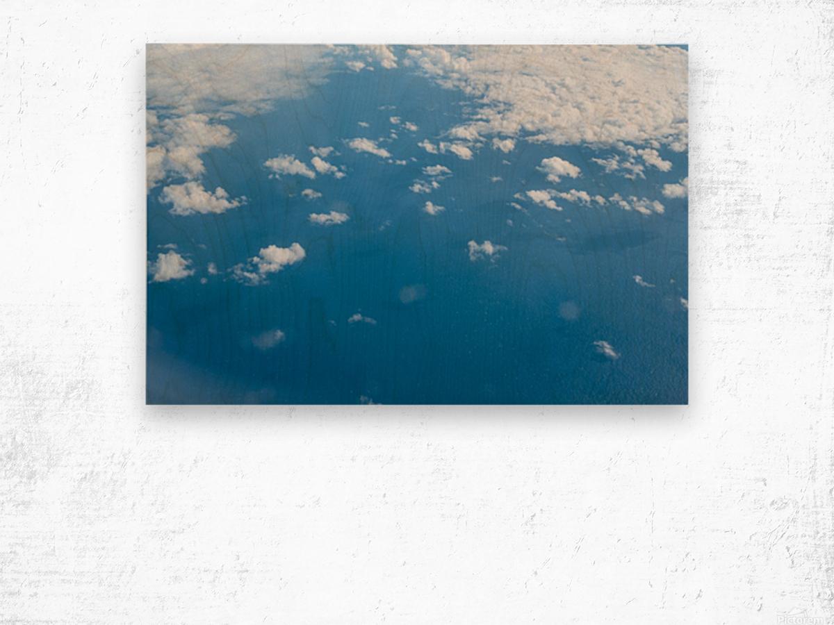 Océan Atlantique Impression sur bois